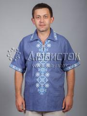 Мужская рубашка-вышиванка ЧСВ 37-1