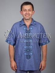 Мужская рубашка-вышиванка ЧСВ 37-3