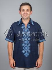 Мужская рубашка-вышиванка ЧСВ 37-5