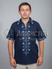 Мужская рубашка-вышиванка ЧСВ 37-6