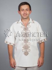 Мужская рубашка-вышиванка ЧСВ 37-8
