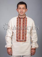 Мужская рубашка-вышиванка ЧСВ 38-1