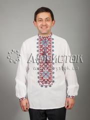 Мужская рубашка-вышиванка ЧСВ 40-2