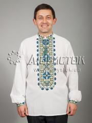 Мужская рубашка-вышиванка ЧСВ 40-5