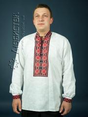 Мужская рубашка-вышиванка ЧСВ 4-2