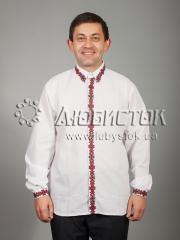 Мужская рубашка-вышиванка ЧСВ 42-1