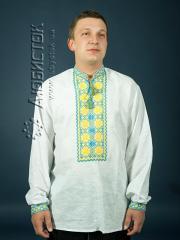 Мужская рубашка-вышиванка ЧСВ 4-3