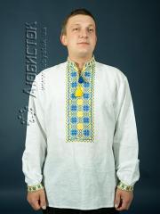Мужская рубашка-вышиванка ЧСВ 4-5