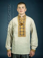 Мужская рубашка-вышиванка ЧСВ 4-6