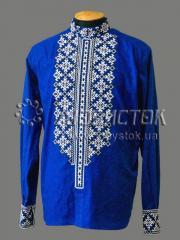 Мужская рубашка-вышиванка ЧСВ 46-1