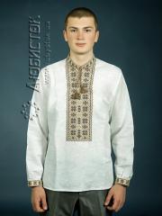 Мужская рубашка-вышиванка ЧСВ 4-7