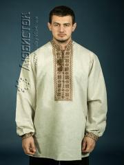 Мужская рубашка-вышиванка ЧСВ 4-8