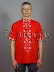 Мужская рубашка-вышиванка ЧСВ 49-1