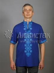 Мужская рубашка-вышиванка ЧСВ 49-2