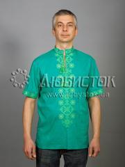 Мужская рубашка-вышиванка ЧСВ 49-3
