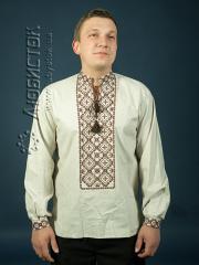 Мужская рубашка-вышиванка ЧСВ 5-1
