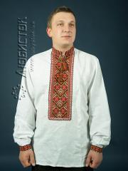 Мужская рубашка-вышиванка ЧСВ 7-1