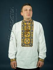 Мужская рубашка-вышиванка ЧСВ 8-1