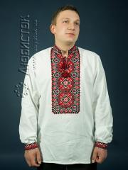 Мужская рубашка-вышиванка ЧСВ 8-2