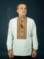 Мужская рубашка-вышиванка ЧСВ 8-3