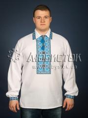 Мужская рубашка-вышиванка ЧСВ 9-2