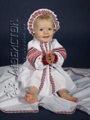 Набор для крещения НХК-1-35 для девочки