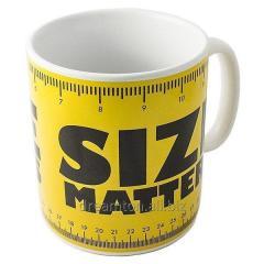 Кружка - гігант «Size matters»