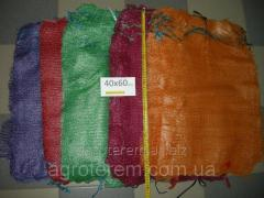 Grid vegetable (mesh bag) 40х60 (20 kg) red (100 pieces)