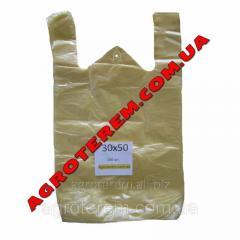 Пакет майка 30х50 см (100шт)