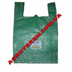 Пакет майка 40х60 см (10 мкр.) (50шт)