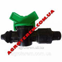 Фитинг кран с уплотнительной резинкой (Х)