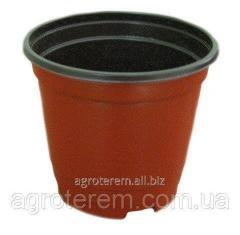 Горшки пластиковые для рассады (120 мм х 85 мм х 105) обьем 850 мл.