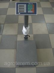 Весы электронные 100 кг (железная нога и площадка)