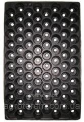 Кассета для рассады Польша 84 ячейки,размер 36*56 см,толщина стенки 0.55 мм