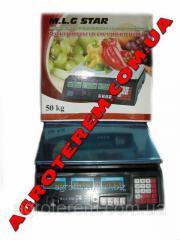 Весы электронные 50 кг M.L.G STAR (4в)