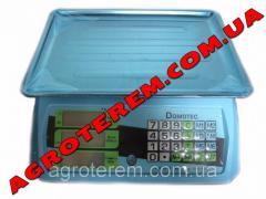 Весы электоронные 55 кг торговые Domotec (DT 812)