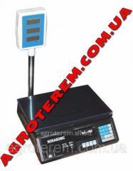 Весы электронные 50 кг со стойкой (501) Nokasonik