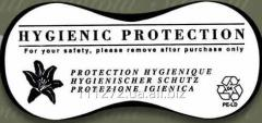 Гигиенические наклейки для купальников черные