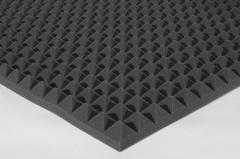 Акустический поролон пирамида 50мм Цвет черный