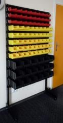 Rack with boxes 360*1000*1500