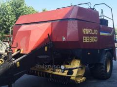Tyukovy press sorter of NEW HOLLAND BB960S