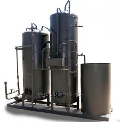 Water treatment installation (water treatment) of