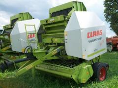 Press sorter of CLAAS VARIANT 280 ROTOCUT