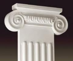 "Pilasters from plaster ""Masterful"