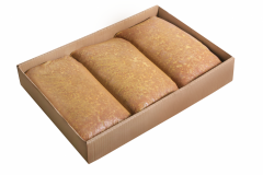 Фарш свино-говяжий Селянский ЛЮКС  - м/блок 15 кг 3 по 5