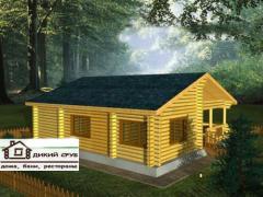 Domy dřevěné (sruby)