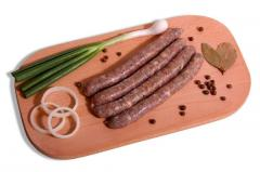 Sausage Mergets thin in a mutton chereva (ZS)