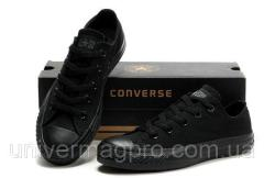 Converse ALL STAR gym shoes (konversa) Black low