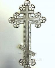 "Крест ""Ажурный"" без распятия- металлизация"