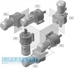 Планетарный мотор-редуктор 3МПМ на лапах